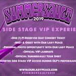 Image for the Tweet beginning: VIP packages will be available