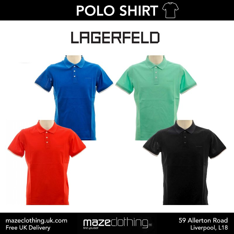 Check out the Lagerfeld collection at Maze Clothing! 💥  #Lagerfeld #MazeClothing #DesignerFashion
