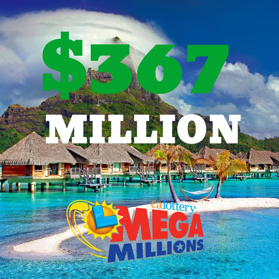 Tonight's Mega Millions jackpot would be enough to take a permanent vacation... #megamillions #calottery