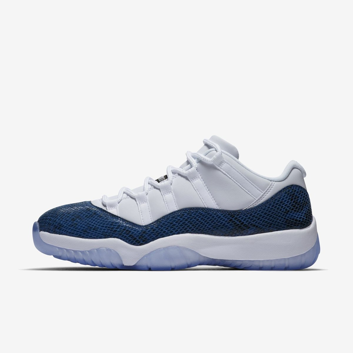 """SALE: Jordan 11 Retro Low """"Navy Snakeskin"""" last sizes $148 with FREE shipping. Use code J23MAY at checkout  Link -> https://go.j23app.com/boi"""