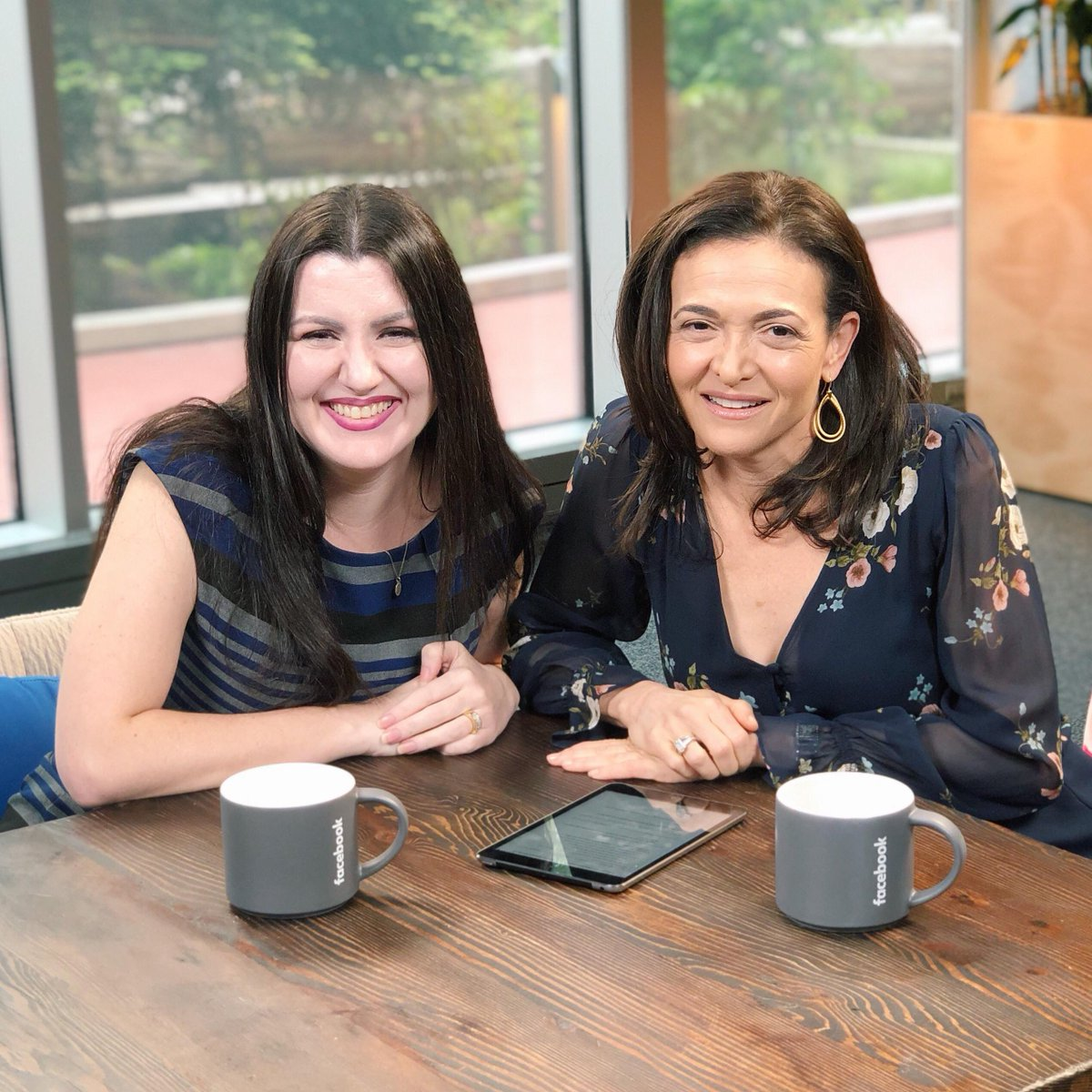 Sheryl Sandberg just went Live with Fidji Simo, new head of the Facebook app, to chat about Fidji's new role, some of our recent announcements, and her  advice for women in tech. Check it out:  https://www.facebook.com/sheryl/videos/10161676945990177/…