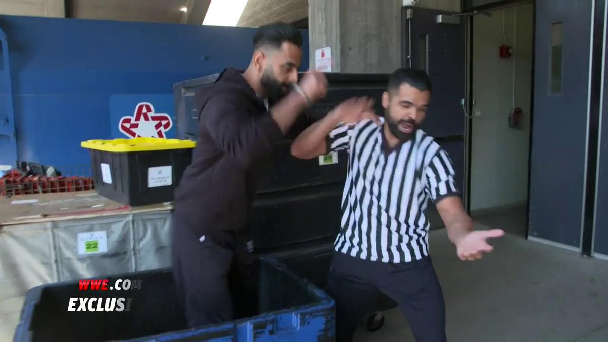 EXCLUSIVE: The @SinghBrosWWE come up with a plan to capture the #247Title! #SDLive
