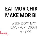 Image for the Tweet beginning: Eat mor chikin with us