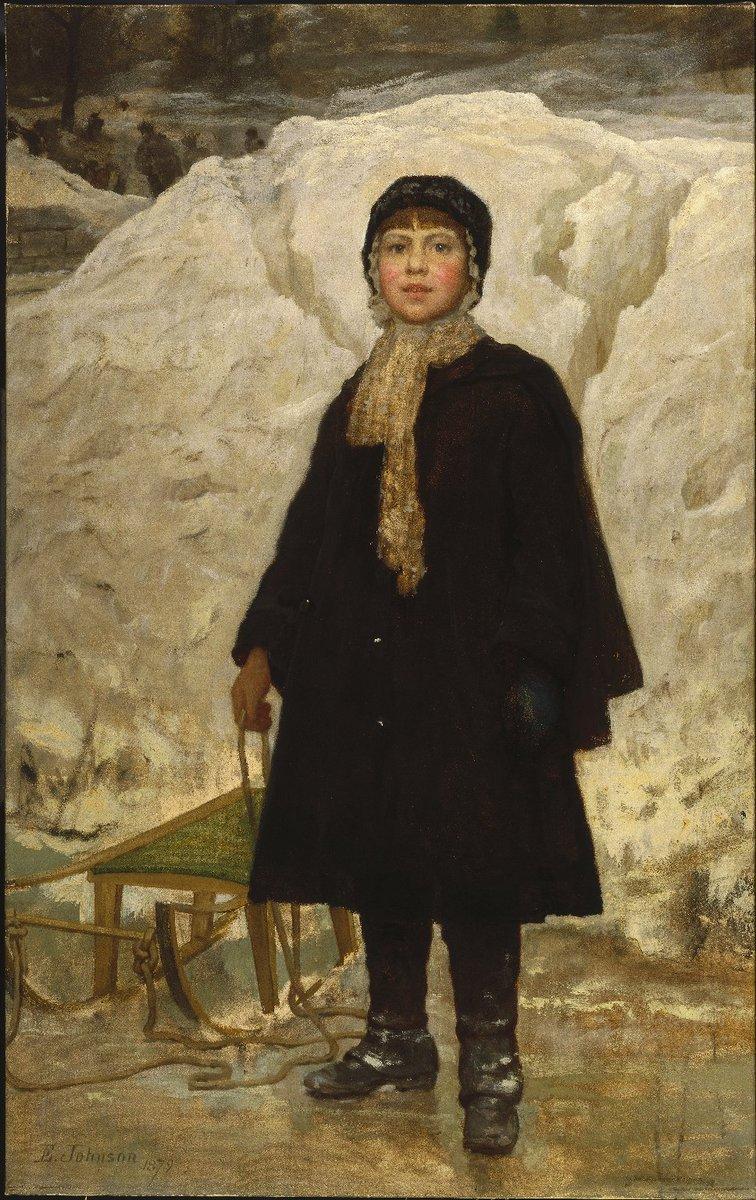 Portrait of a Child, 1879 #johnson #eastmanjohnson<br>http://pic.twitter.com/ojcTQ7jHRC