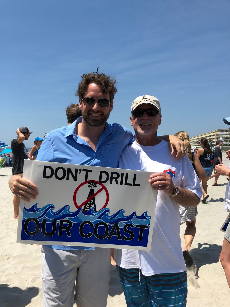 Lowcountry leaders band together to fight offshore drilling.  https:// islandeyenews.com/hands-across-t he-sand-unites-local-leaders/ &nbsp; … <br>http://pic.twitter.com/FWTgf64uRJ
