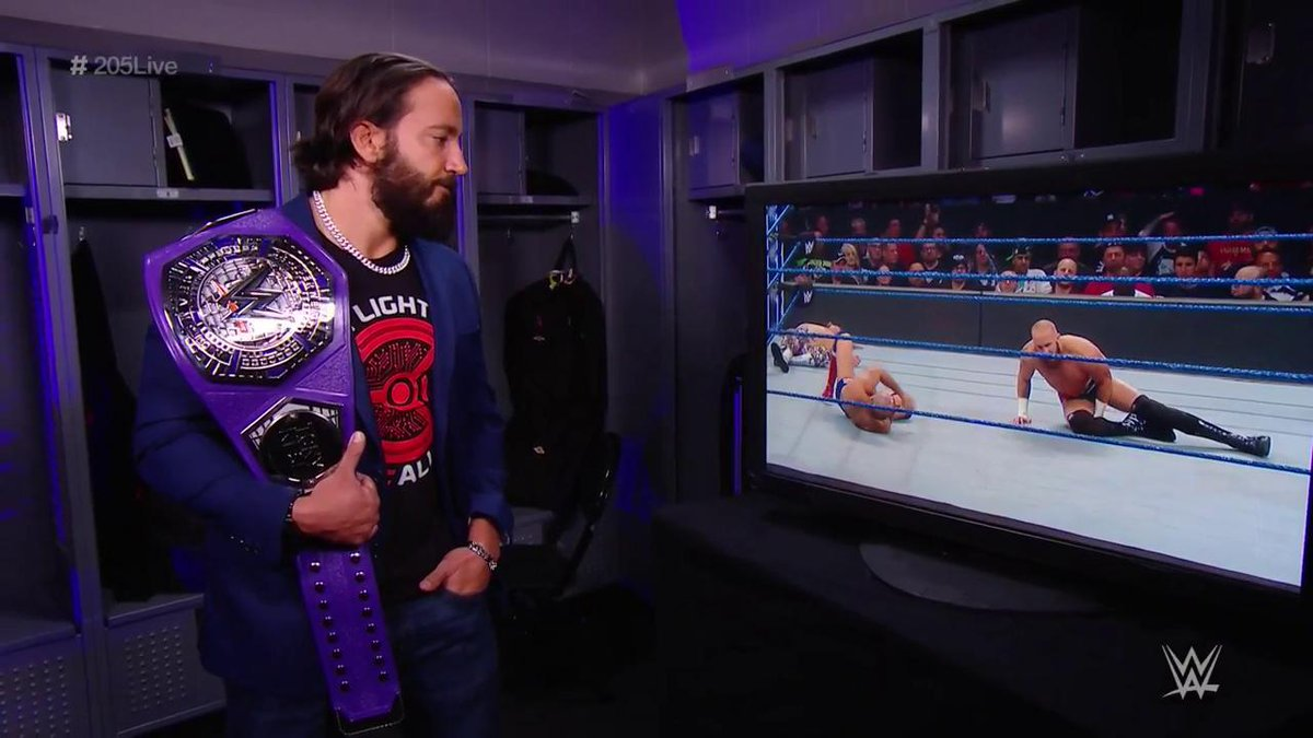 What could the #Cruiserweight Champion @TonyNese be thinking? #205Live