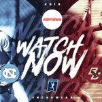 Image for the Tweet beginning: 🥍TUNE IN🥍  🐏 (3) @uncwlax 🆚 🦅 (2)