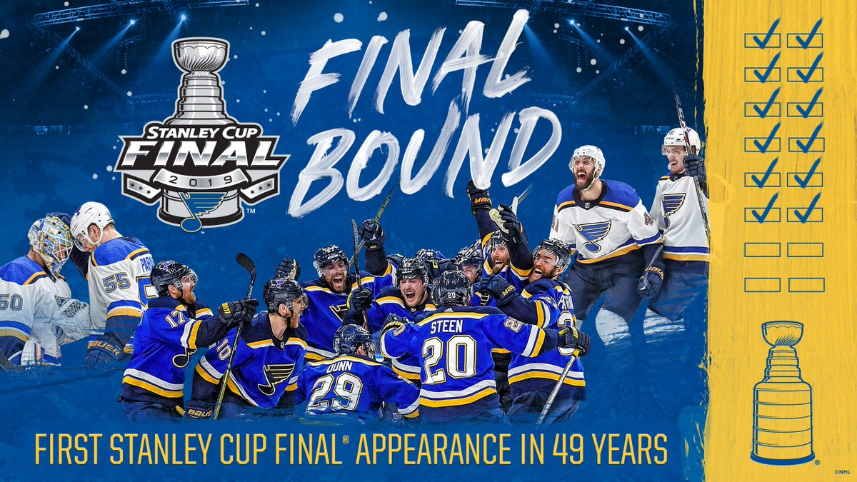 We've waited a LONG time to be back and WE'RE NOT DONE YET!!! #WeAllBleedBlue #stlblues