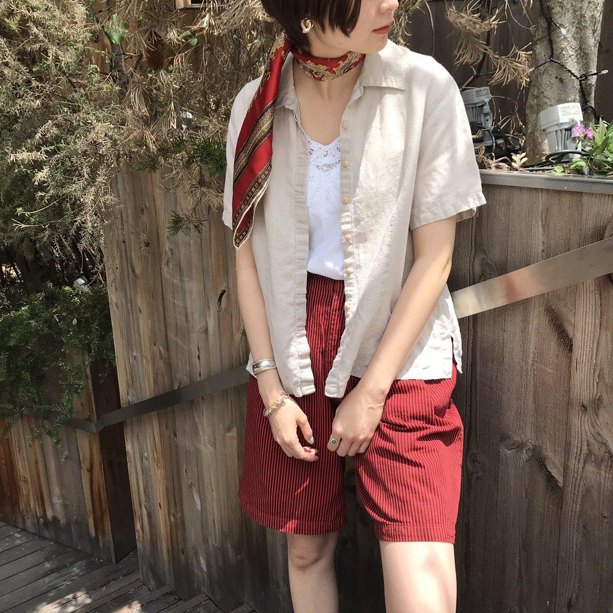 ❤️vivie blog up❤️  ショートパンツ×リネンシャツ  http://vivie.jp/news/item/7280/