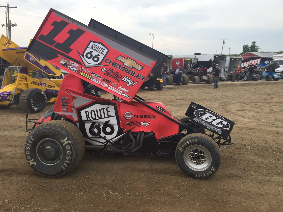 'The Rocket' Roger Crockett  Broken Arrow, OK Lucas Oil ASCS Sprint Car Dirt Series I-96 Speedway 2019 https://t.co/ZRJCKRqFhU