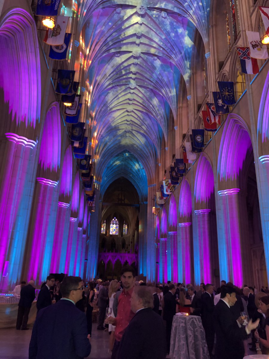 Amazing venue for @RADPAC Gala 2019, Washington National Cathedral! #ACR2019<br>http://pic.twitter.com/bLssLzYiHk