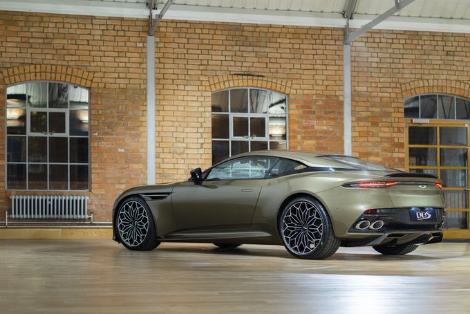 The Aston Martin DBS Superleggera…