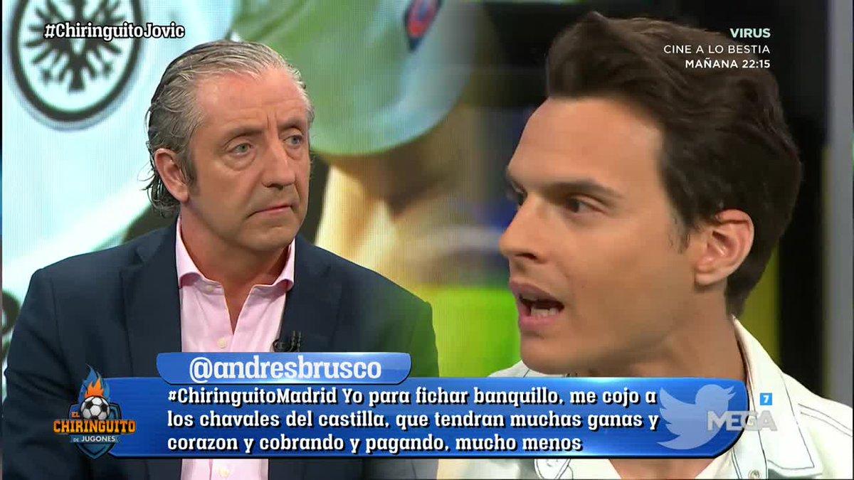 El Chiringuito TV's photo on Jovic