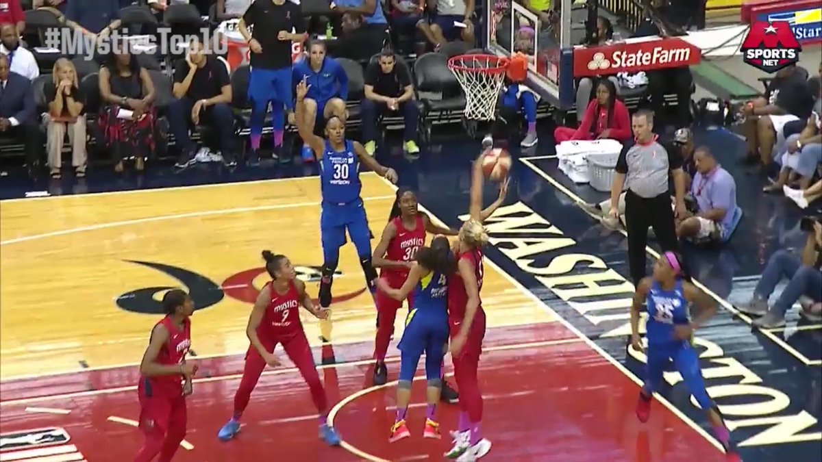 #MysticsTop10 #️⃣5️⃣: @De11eDonne flexes her defensive skills with the SWAT on @SkyDigg4 🙅‍♀️   Watch the @WashMystics this Summer, presented by @WGLenergy: http://monsports.net/sub