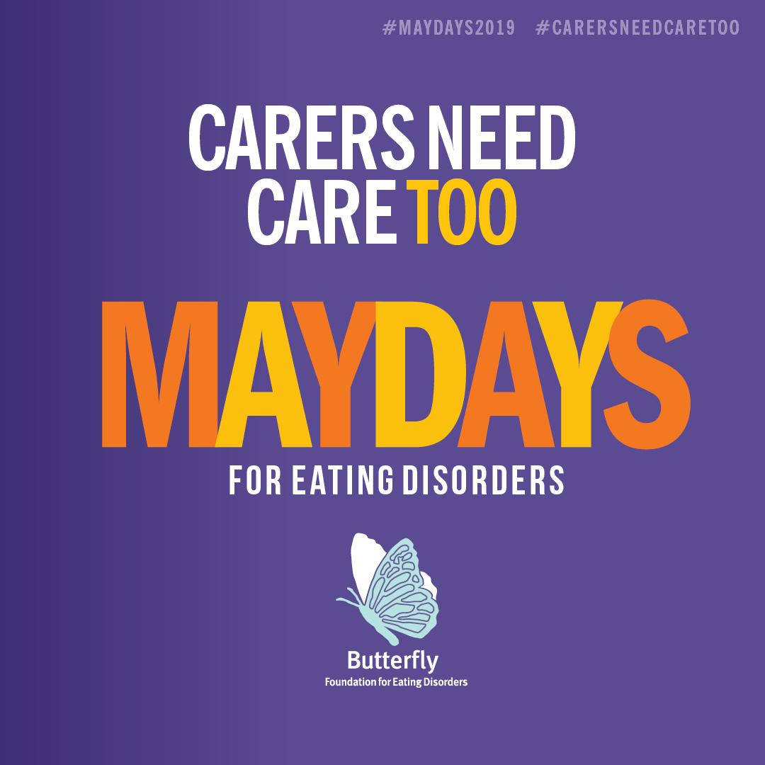 .@Bfoundation's #MAYDAYS2019 campaign highlights the extraordinary work that carers do in supporting loved ones with an eating disorder. @MindframeMedia has guidelines for reporting on mental ill-health, which can be found at: https://t.co/9wZOhd9Fn1 #CarersNeedCareToo https://t.co/FxkonRWp7Q