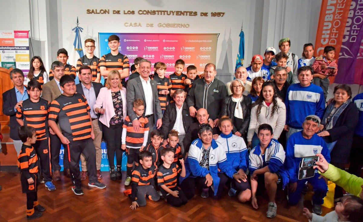 Las instituciones deportivas de #Chubut merecen que sigamos acompañando todo el trabajo que hacen desde la contención y la transmisión de valores. Felicitaciones a @chubutdeportes_  por el valioso aporte a las instituciones deportivas de #Rawson.
