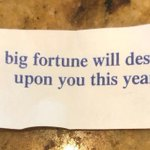 Image for the Tweet beginning: A real fortune I got