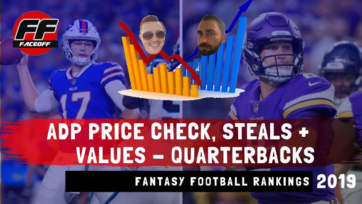 🚨NEW🚨 ACTION PACKED episode performing #FantasyFootball ADP Price Checks at QB. Check out who I believe are overvalued + undervalued entering #draft season RIGHT NOW📈📉 ⏯Video👉 youtu.be/vWW5CxwWLdk ⏯Audio👉 itunes.apple.com/us/podcast/the…) ⏯Spreaker👉 spreaker.com/episode/180381…
