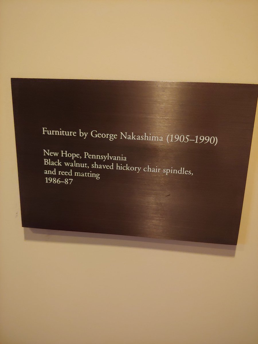 RM got a double dose of #Nakashimawoodworkers because they also made all the furniture in the Tale of the Genji exhibit at the MET. @BTS_twt<br>http://pic.twitter.com/sg5Ec6FACC