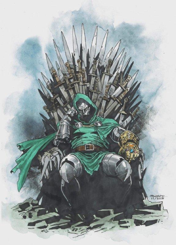 Let's Talk Dr. Doom! ➃ Agent of G.I.R.L's photo on #GameOfThrones