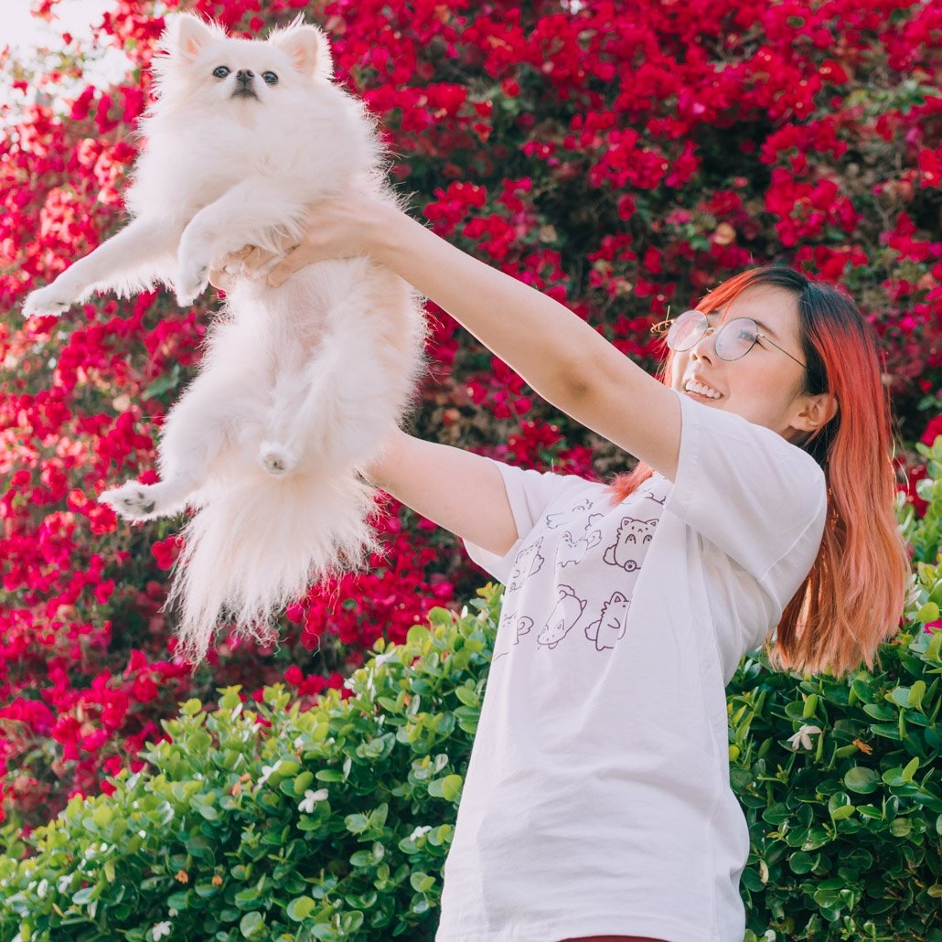 Temmie tee (amongst other things) avail now :D http://lilypichu.com ❤