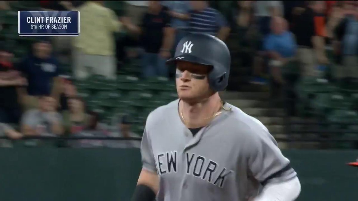 YES Network's photo on Clint Frazier
