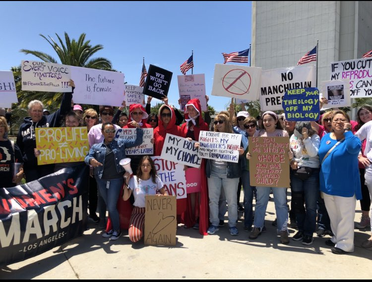 Thank you for showing up all across LA!  #StopTheBans #WomensRightsAreHumanRights <br>http://pic.twitter.com/05jMBdkAfC