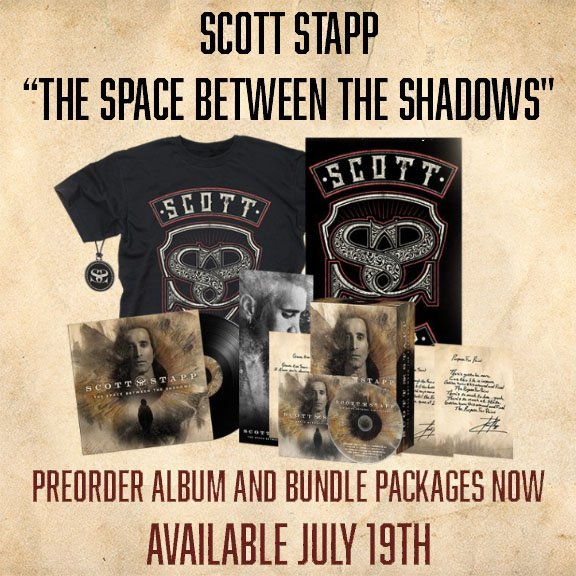 Scott Stapp On Twitter Preorder The New Album The Space Between