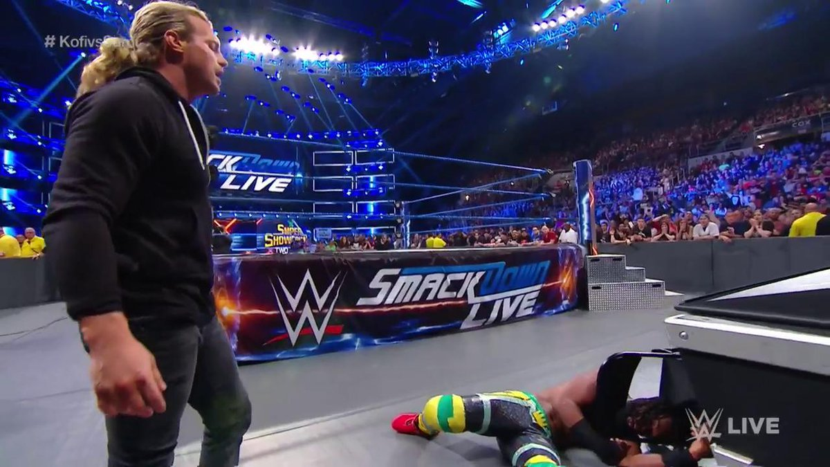 Dolph Ziggler Returns On WWE SmackDown And Attacks Kofi Kingston (Photos, Videos)