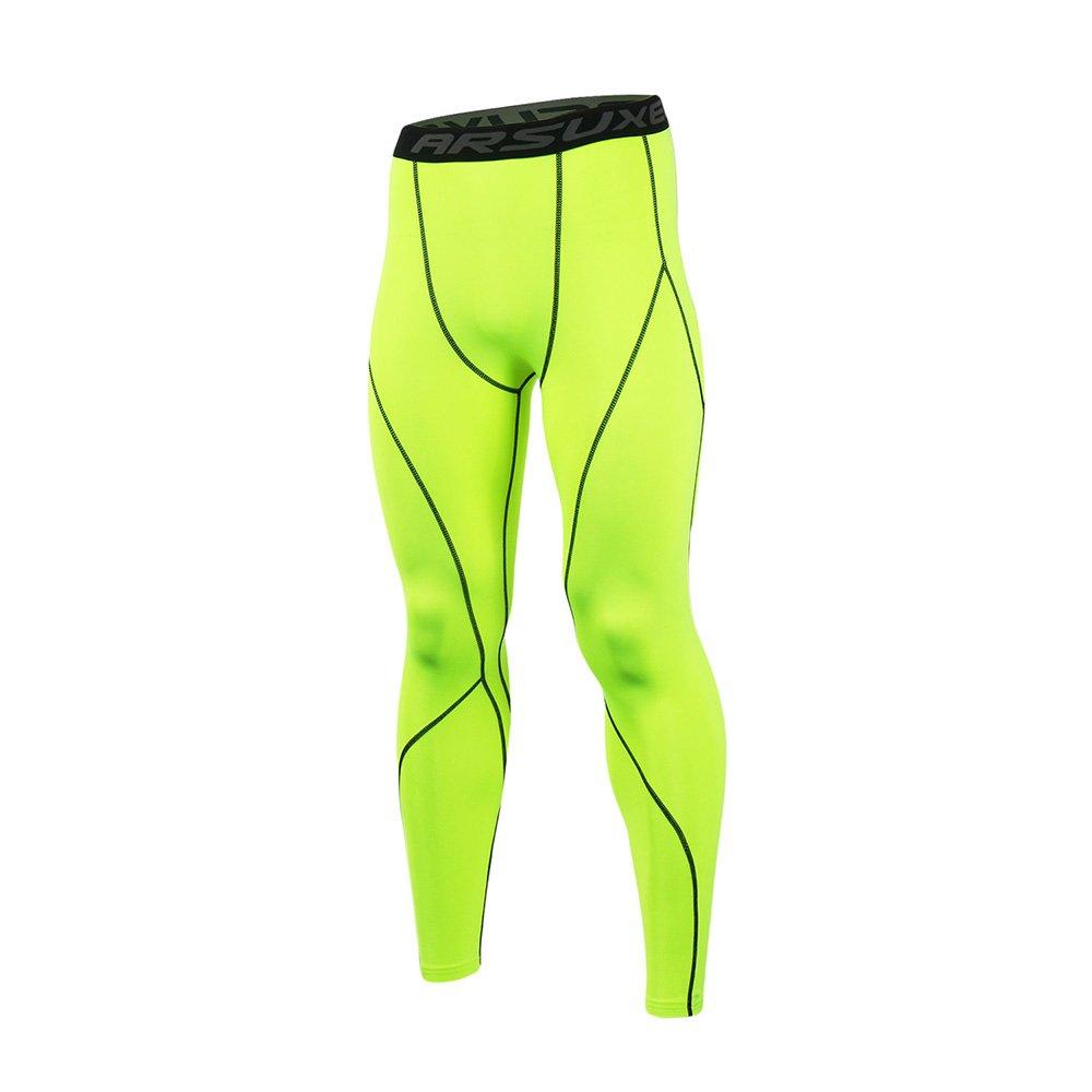 #swimming #yoga Men's Sport Compression Running Pants