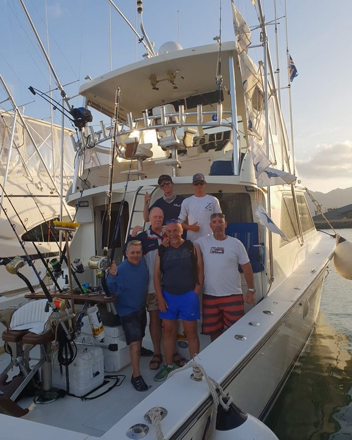Cape Verdes - Amelia went 2-3 on Blue Marlin (500).