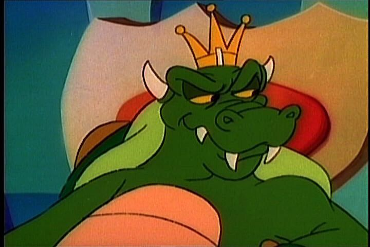 Ill play. #1stCartoonCrush? King Koopa. I mean, duh, right? I was...5? Probably? I didnt understand the feelings I had at all, but Koopa was someone I wanted to be close to. The Koopzilla ep helped. And the voice.