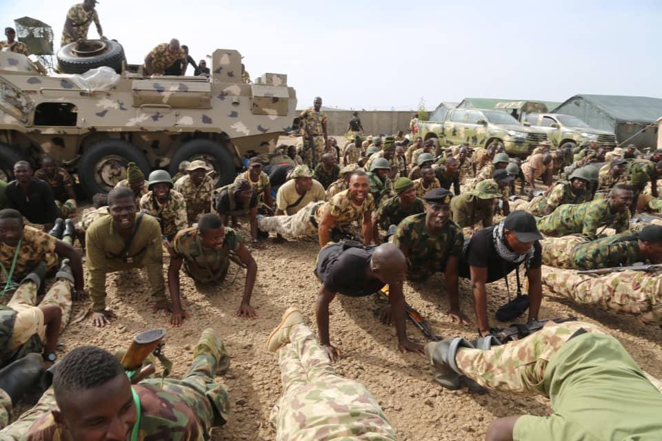 Nigerian Army в Twitter: