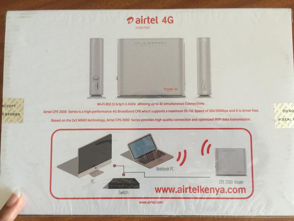 Airtel 4g Home Wifi Router