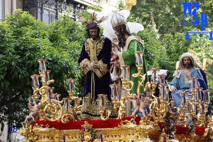 Jornada Lunes Santo @HdadSanGonzalo #semanasanta2019  📸 @barrera_52  #tdscofrade   ➡️ Más Imágenes :https://www.estaciondepenitencia.es/jornada-lunes-santos-hdad-san-gonzalo…