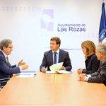 Image for the Tweet beginning: El @Ayto_Las_Rozas  firma un