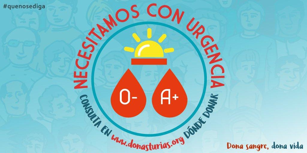 Asturias necesita urgentemente sangre