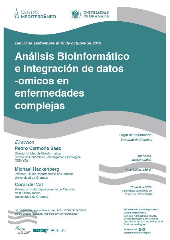 Curso análisis e integracion de datos -omicos