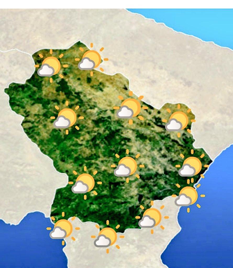 Le previsioni meteo #Basilicata di oggi 22 maggio ...