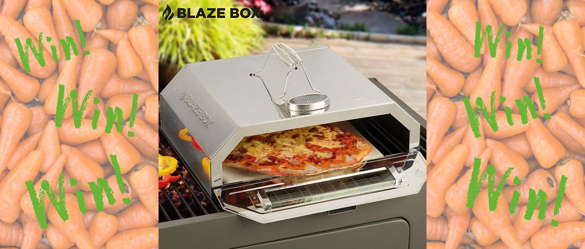 #win this Blaze Box BBQ pizza oven in our #comp FOLLOW &amp; RT with #BBQCarrot T&#39;s and C&#39;s  http:// bit.ly/2wdLD1u  &nbsp;    #competition #giveaway #CompetitionTime <br>http://pic.twitter.com/wSeMUpphOj