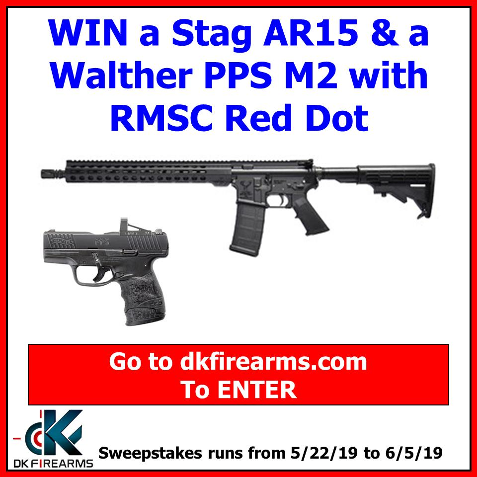 NEW Gun Giveaway from DK Firearms!   #gungiveaway #guns