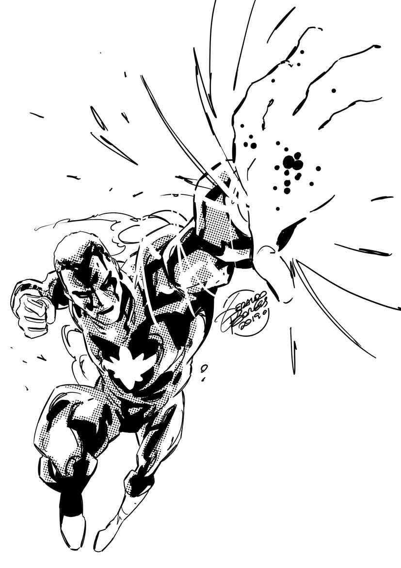 Warmin´ up: Captain Atom! #justiceleagueofamerica #dccomics #artistgo #quadrinoschile #cursos #talleres #dibujo #comics #clases #santiago #chile #regiones<br>http://pic.twitter.com/aCJ6B6rciG