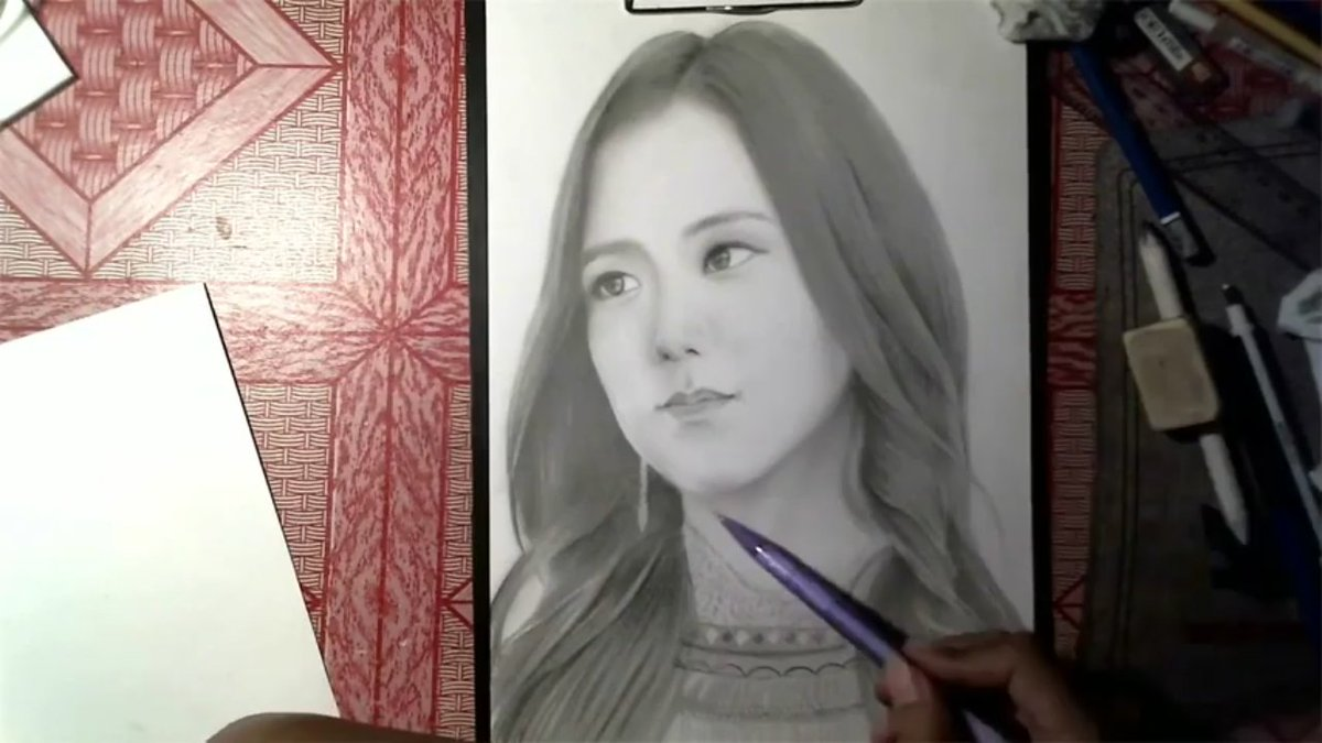 https://youtu.be/OO3yX3dJCOc Jisoo speed drawing#jisoo #BLACKPINK #지수 #jichuu #yg #YGEntertainment #blackpinkofficial
