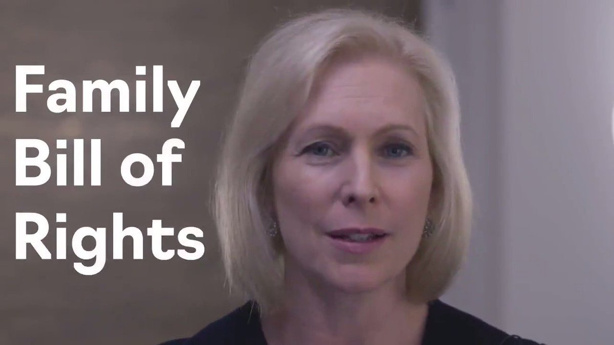 Kirsten Gillibrand's photo on Family Bill of Rights