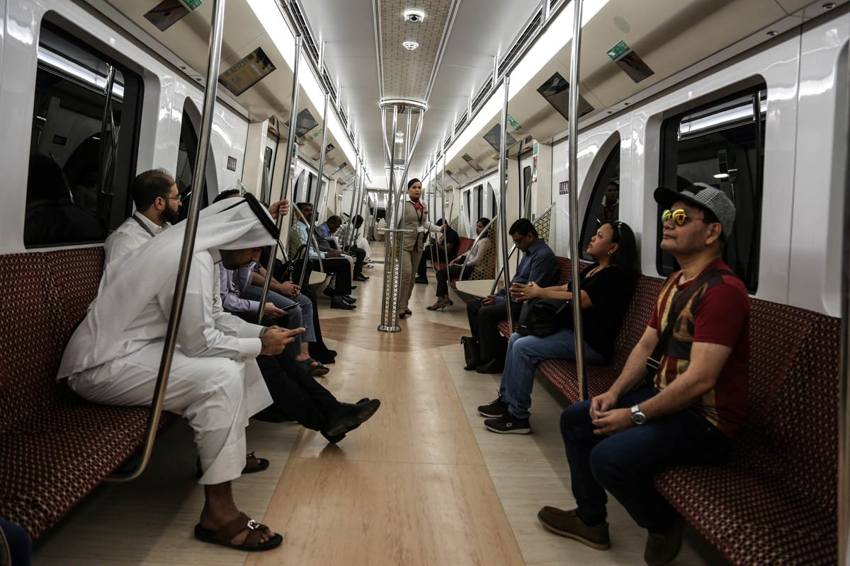 Dohas first ever metro opened as Qatar continues preparations for the 2022 World Cup — in pictures aje.io/zau5w