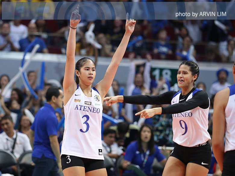 'Alam niya na kaya ko' - Ateneo's Deanna Wong on being seen as a leader by Jia Morado #UAAPVolleyballFinals http://bit.ly/2HvUVwo
