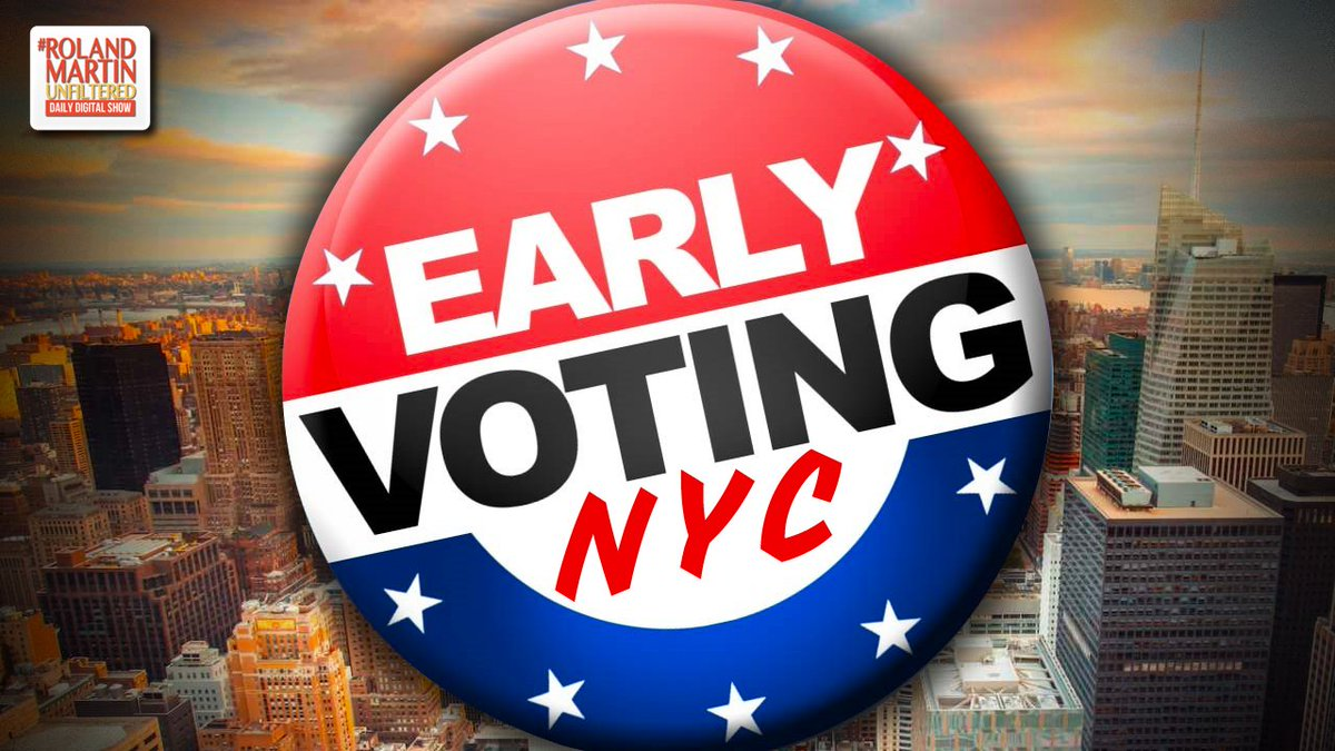 NYC&#39;s Early Voting Plan Favors White, Affluent Voters &amp; Puts An Undue Burden On Low Income Voters  http:// ow.ly/GUwA50ulYB4  &nbsp;   #RolandMartinUnfiltered <br>http://pic.twitter.com/dxKNHO8UUm