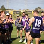 Image for the Tweet beginning: The boys welcoming Hilly back