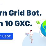 Image for the Tweet beginning: 🤓 Learn Grid Bot. Earn