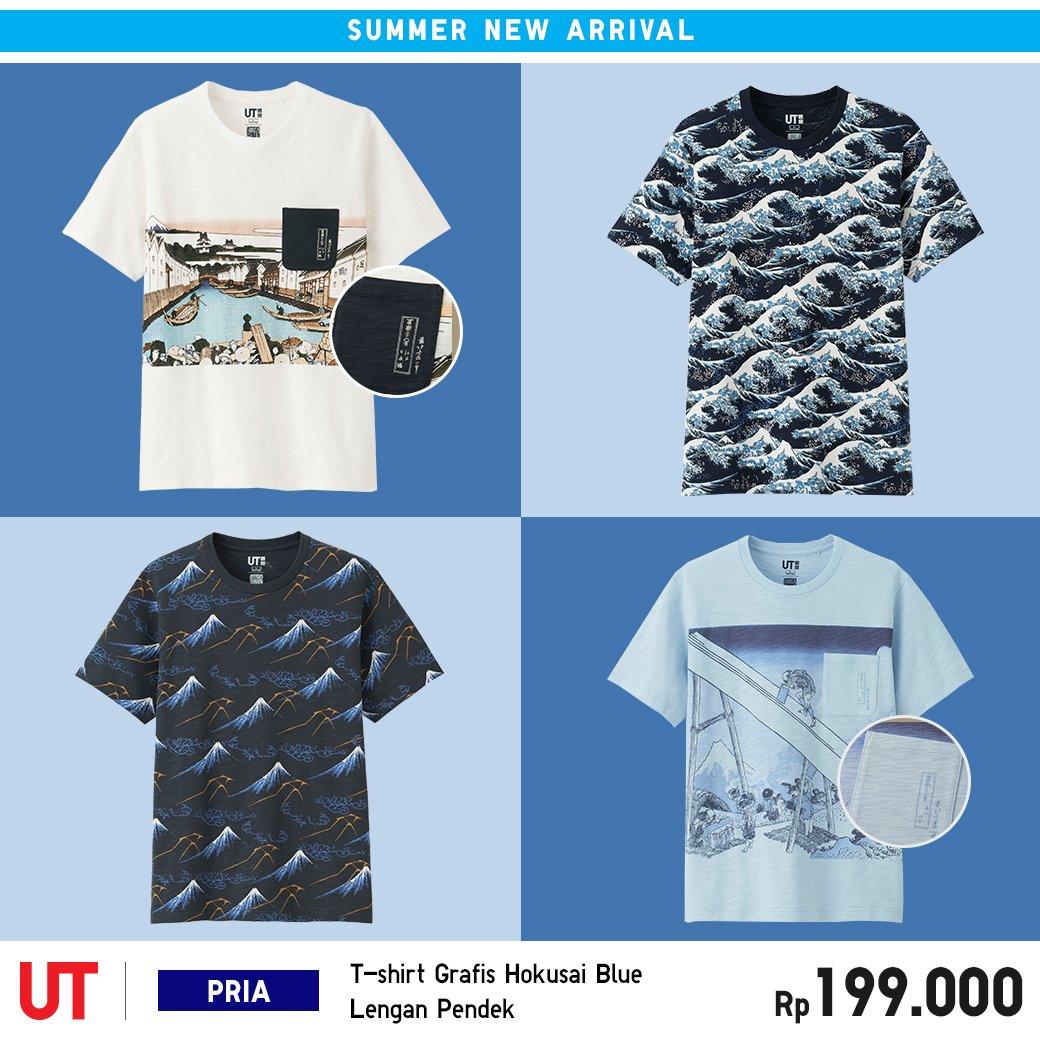 4bbb5f49f Temukan motif khas Jepang yang menarik dalam koleksi terbaru UT Hokusai Blue!  https://s.uniqlo.com/mUTHokusai190522twitter … ...